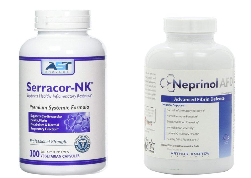 Serracor NK vs Neprinol   Bodysuppl